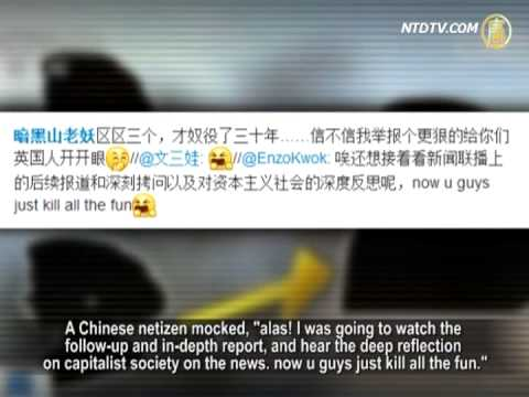 China State Media Ridicule London's Slavery Case
