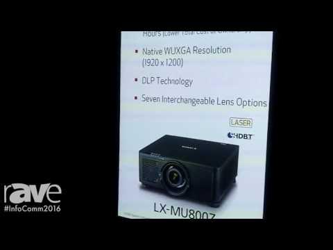 InfoComm 2016: Canon Intros LX-MU800Z