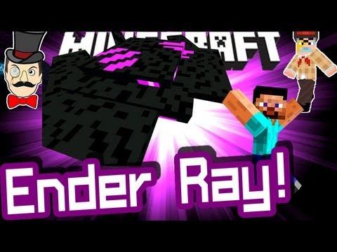 Minecraft ENDER RAY Mod!
