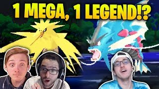 1 MEGA, 1 LEGEND, 1 ROUTE?! | Pokémon Ultra Sun and Moon Randomizer Nuzlocke TRIPLE THREAT #12