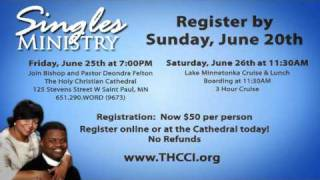 Singles Conference with The Holy Christian Church