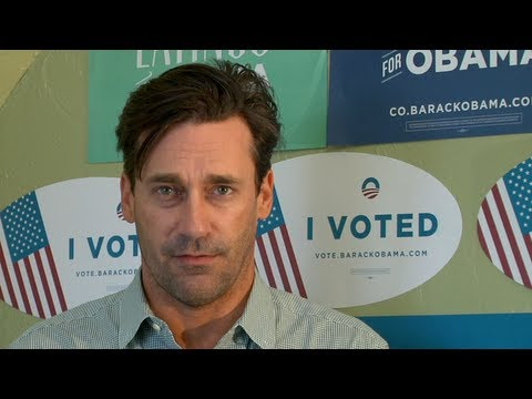 "Jon Hamm: ""Hey Colorado, Are You Voting Early?"" - OFA Colorado"