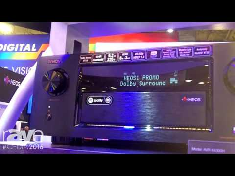 CEDIA 2016: Denon Highlights AVR-X4300H 9.2 Channel Full 4K Ultra HD Receiver with HEOS