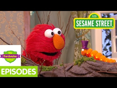 Furchester Hotel: Elmo And Phoebe Discover A Butterfly video