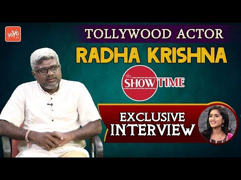 Tollywood Actor Radha Krishna Exclusive Interview | It's Show Time | YOYO TV Channel