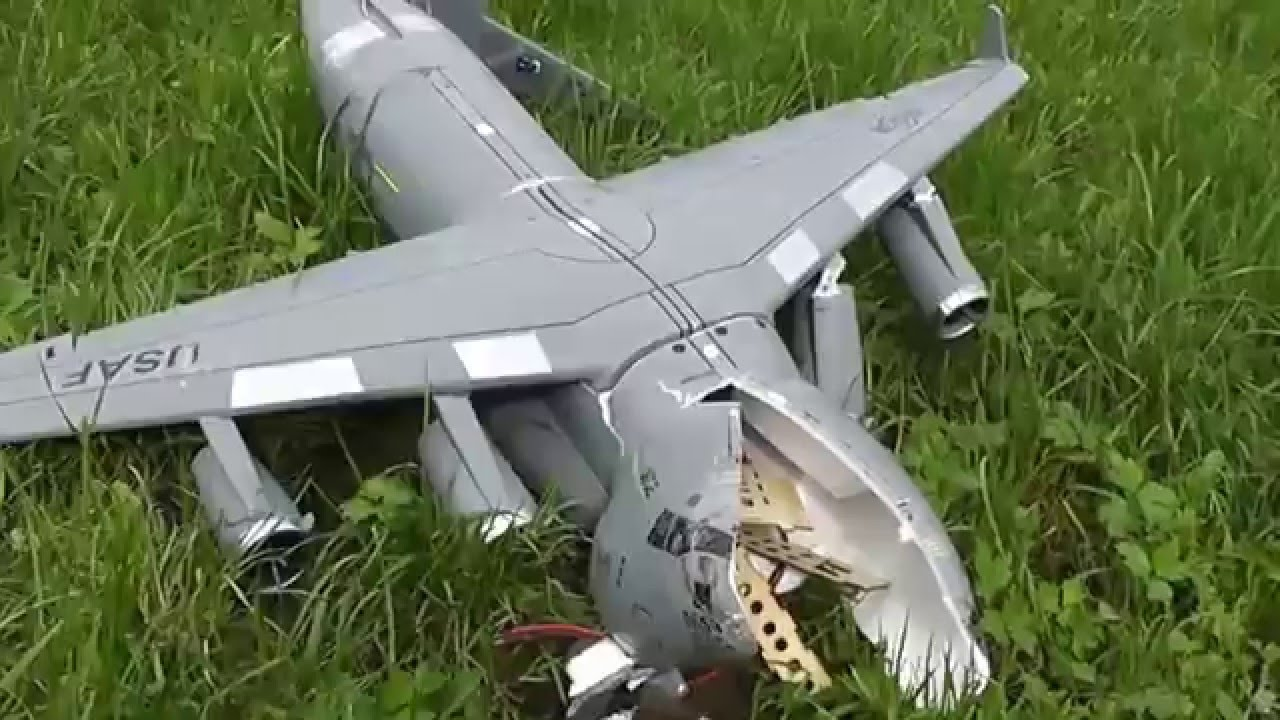 RC C-17 Crash  C 17 Crash