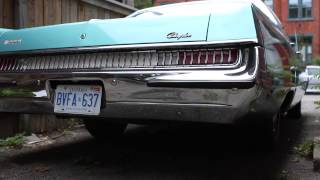 1969 Chrysler Newport 383 V8 cold start