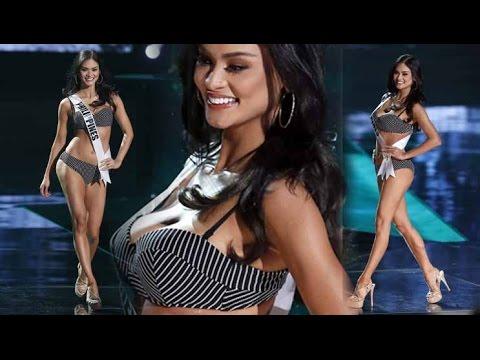 *Pia Alonzo Wurtzbach-Philippines* Swimsuit Competition*Miss Universe 2015*720p***