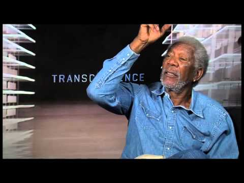TRANSCENDENCE Interview with Morgan Freeman