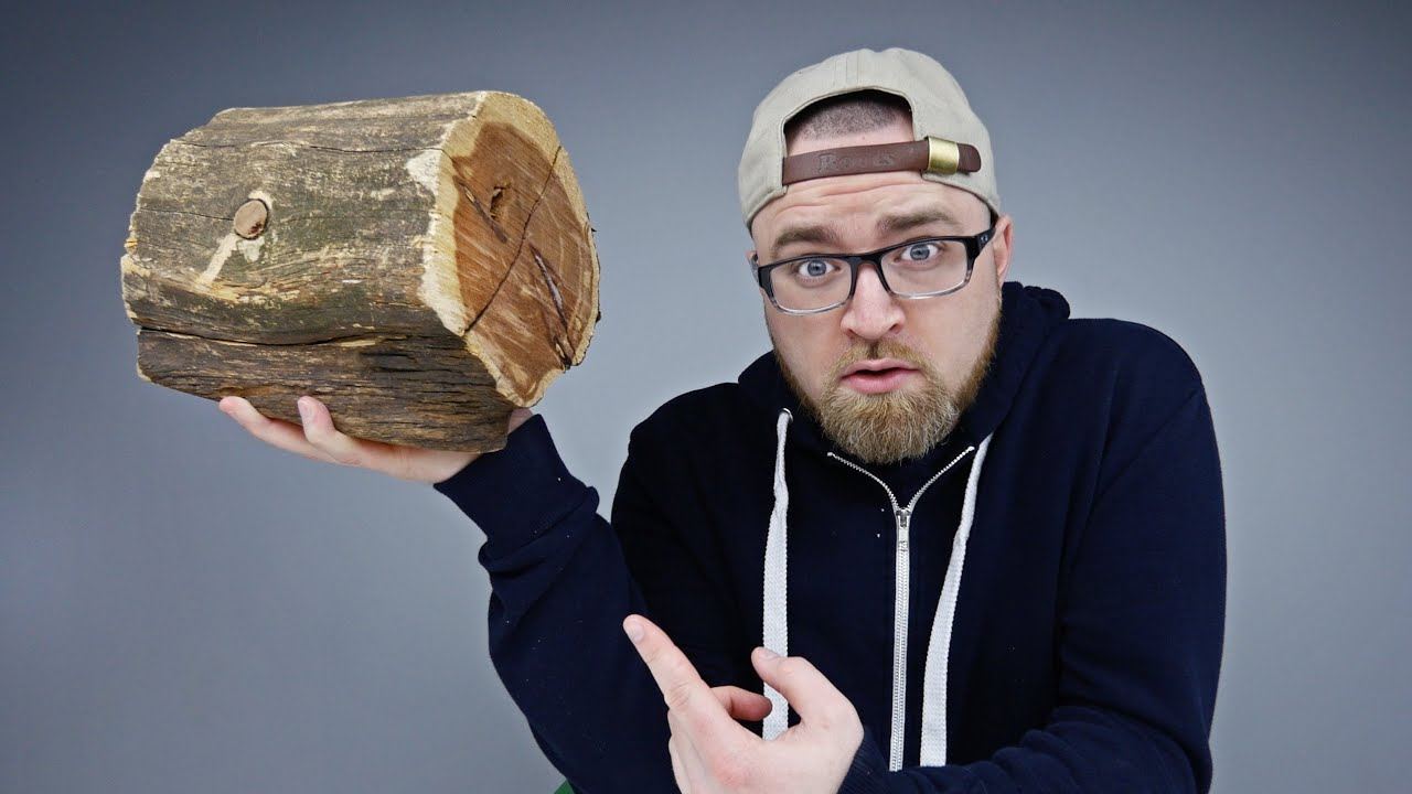 The Wood Log Of Mystery...