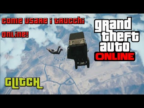 GTA Online:COME UTILIZZARE TRUCCHI su GTA Online!(CHEAT CODES GLITCH! Supersalto,supervelocità,ecc!)