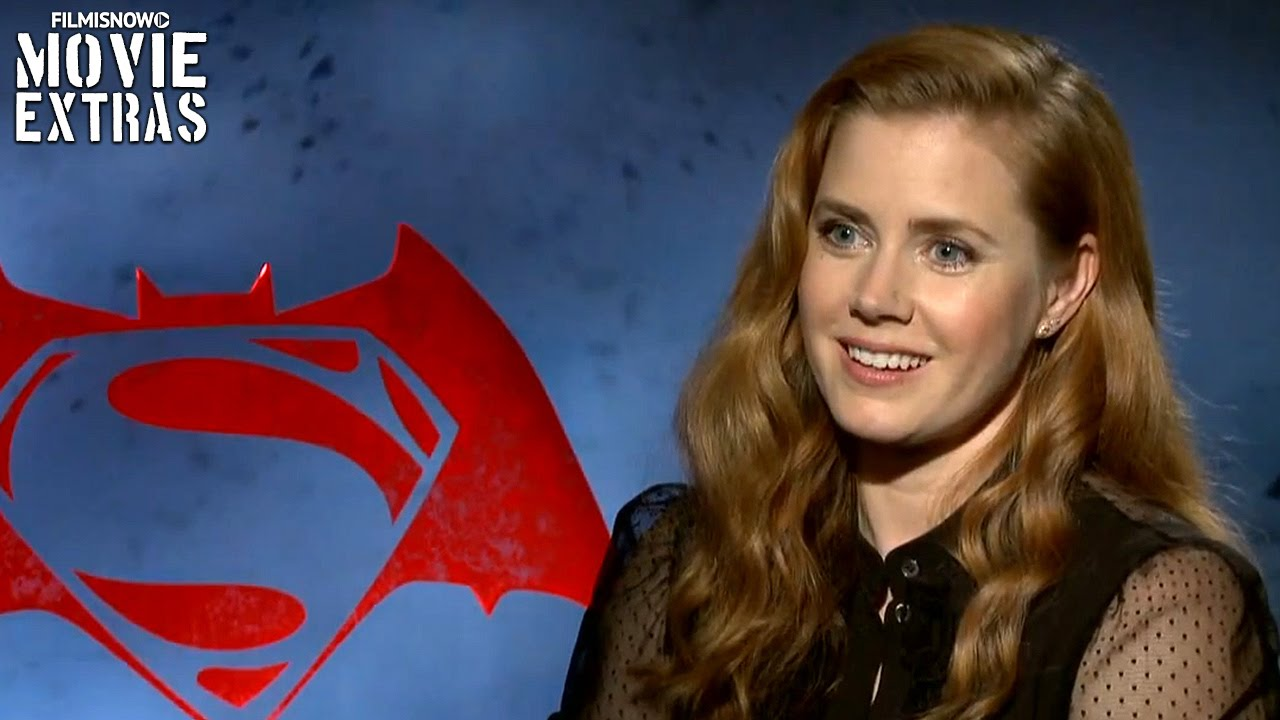 Batman v Superman Dawn of Justice | Amy Adams Official Interview (2016)