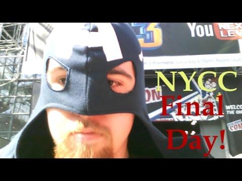 That Movie Nerd @ New York Comic Con Final Day!: Karate Kid, Gotham, Princess Bride