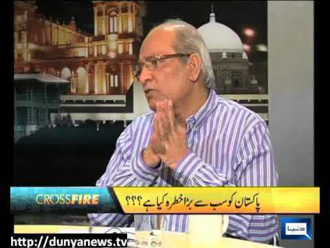 Dunya News-CROSS FIRE-02-08-2012