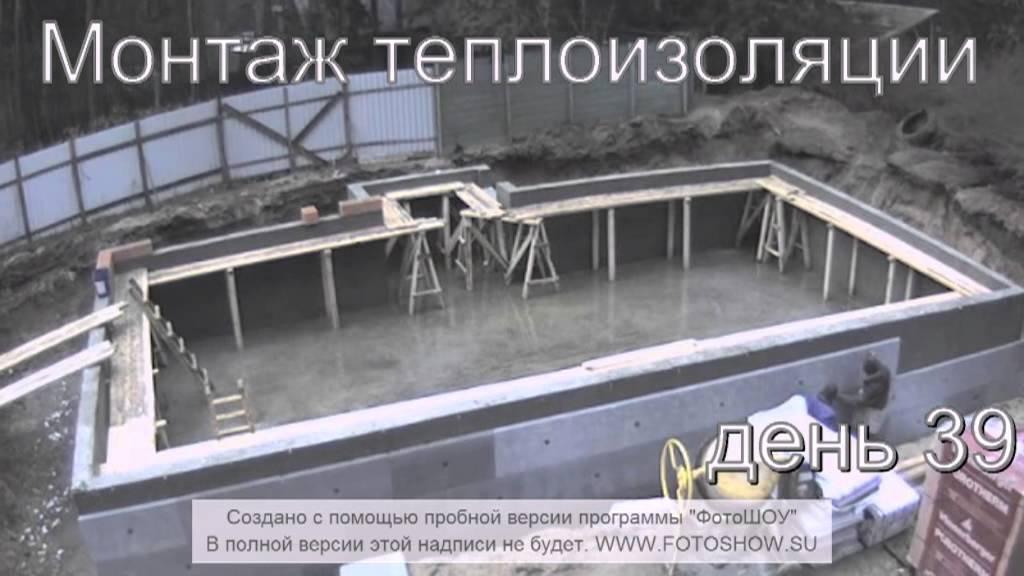 Поэтапное строительство бань из блоков