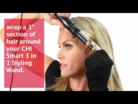 CHI Smart 3 in 1 Wand How To