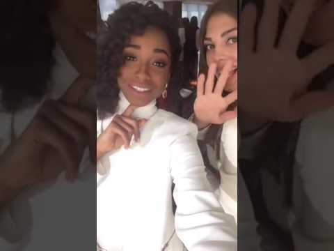 Yaritza Reyes en Facebook Live desde Whashintong D.C. Miss Mundo 2016