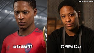 FIFA 18 The Journey Characters Voice Actors