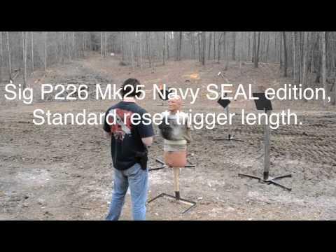 Sig Sauer P226 Short Reset Trigger Comparison.