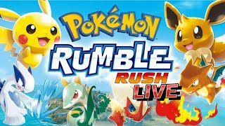 [LIVE] POKEMON RUMBLE RUSH LIVE 02