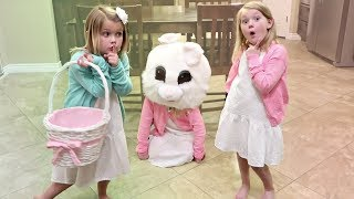 WE CAUGHT THE EASTER BUNNY!