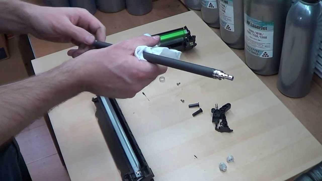 Заправка картриджей hp ce285a своими руками