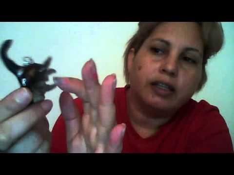 Collar De Bruja Y Anillo Pleyboy En Porcelana Fria video