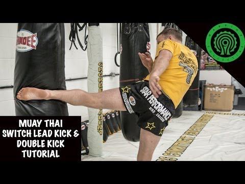 Muay Thai Switch Kick/Double Kick Tutorial