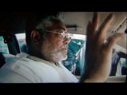 ONE OF THE FEW LEADERS IN AFRICA - JERRY RAWLINGS