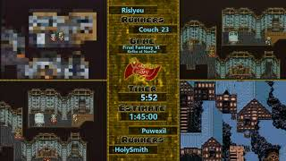 Questing for Glory - Final Fantasy VI Kefka at Narshe race
