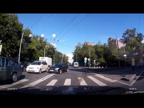 ДТП с МАРШРУТКОЙ AXIOM CAR VISION 1100