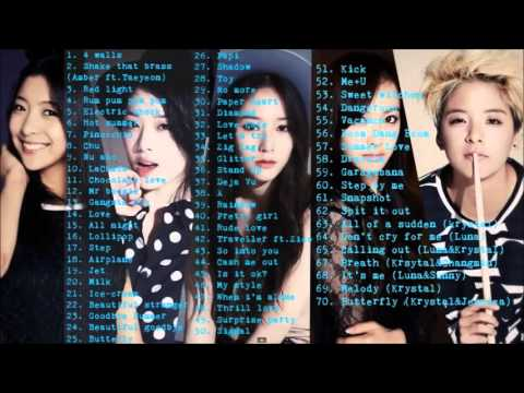 f(x)❤에프엑스(Best Songs Compilation)노래모음 2009-2015