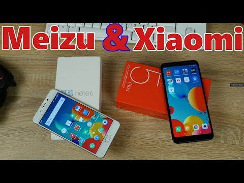 Что купить Xiaomi Redmi 5 Plus или Meizu M6 Note в 2018 году?