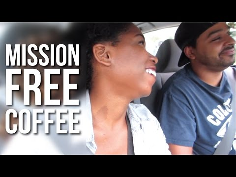 MISSION: FREE COFFEE!! September 28-29, 2014 | Naptural85 Vlog
