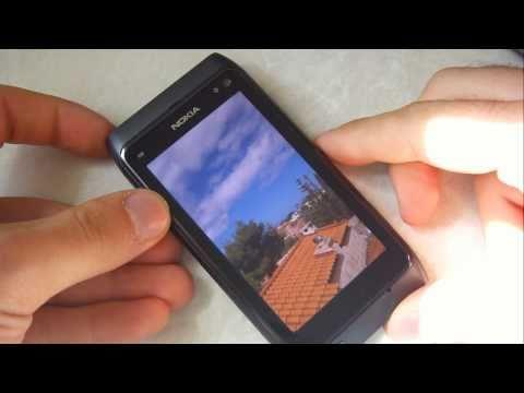 Testing Nokia N8 Gorilla Glass Screen | pestaola.gr