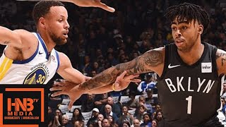 Golden State Warriors vs Brooklyn Nets Full Game Highlights / March 6 / 2017-18 NBA Season