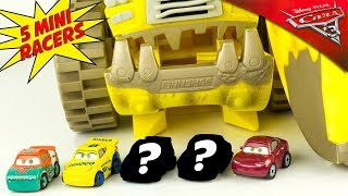 Disney Cars 3 Mini Racers 5 Pochettes Surprise Episode 2 Voiture Diecast Micro Jouet Toy Review