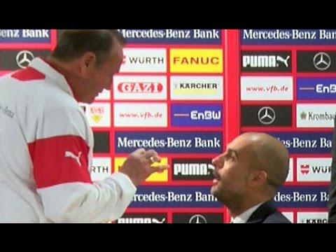 Pep Guardiola & Huub Stevens intim: