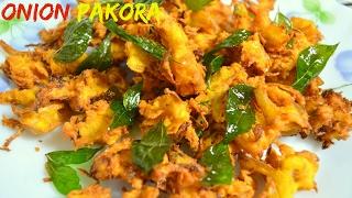 How to prepare Onion Pakoda | Bengali Pyazi | Tea Time snacks