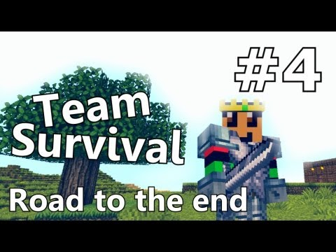 Minecraft - Team Survival #4 Waar is iedereen!?