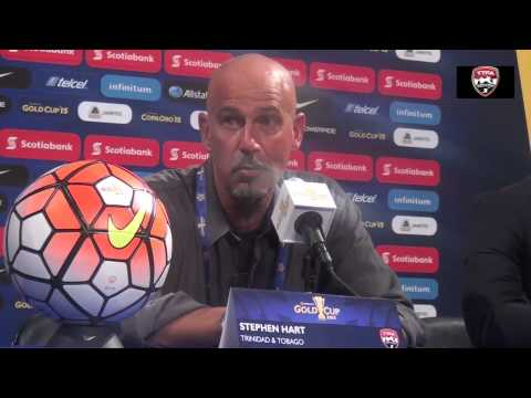 STEPHEN HART AT POST MATCH PRESS CONFERENCE AFTER LOSS TO PANAMA