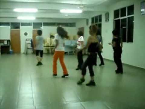 Human Line Dance Line Dance Human Dancer