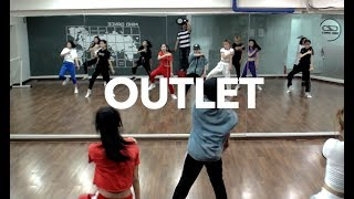 MIND DANCE (마인드댄스) 얼반(Urban)힙합 8:00 Class | Desiigner - Outlet | 박민지(O.MG)T