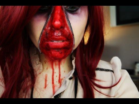 ZIP ME UP! Trucco Halloween