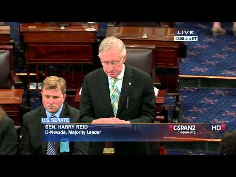 Senator Reid (D-NV) supports US Patent Office Ruling on Washington Redskins