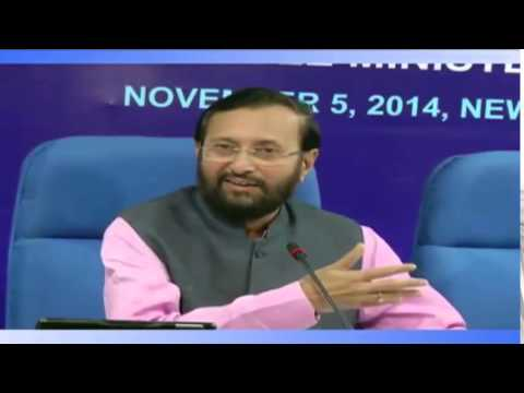 I&B Minister Shri Prakash Javadekar's address at the release of