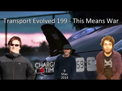 Transport Evolved Electric Car News Panel Show 199: This Means War
