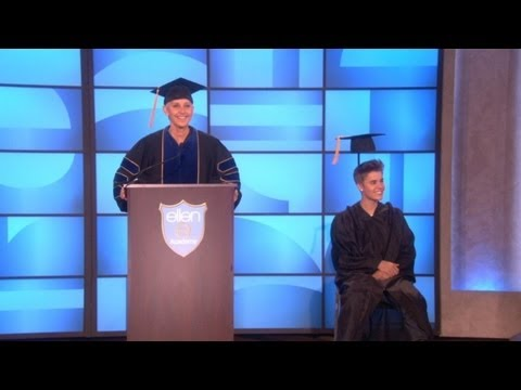 Justin Bieber's Graduation