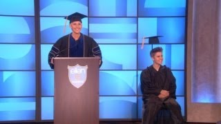 Justin Bieber's Graduation