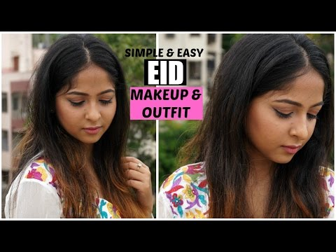 EID MAKEUP Tutorial And Indian Outfit | GRWM | Sareez.com | Stacey Castanha